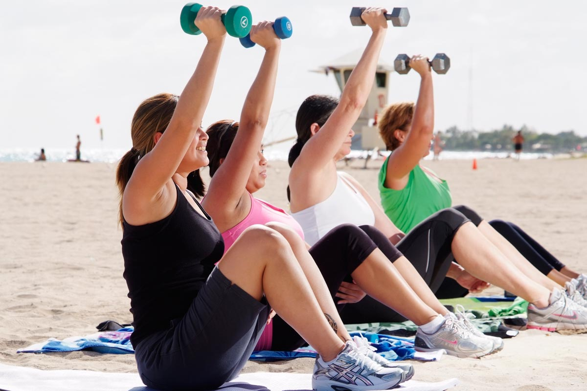 The Two Groups of Fitness - Train Body and Mind