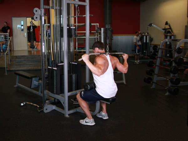 Back Workout, Lat Pulldown Exercise