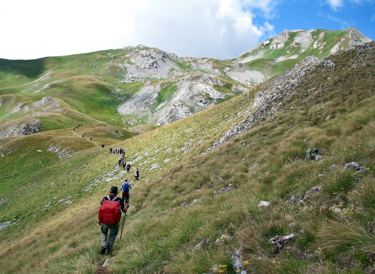 benefits from hiking in the mountains train body and mind