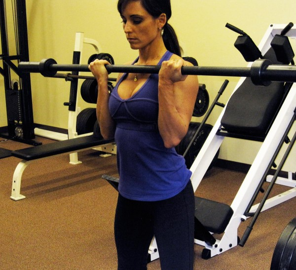 Biceps Workout: Barbell Curl