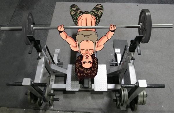 Chest workout: Barbell Bench Press