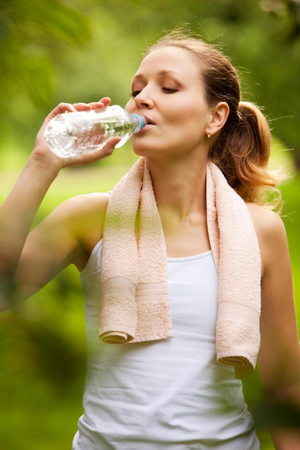 Drinking Water While Exercising