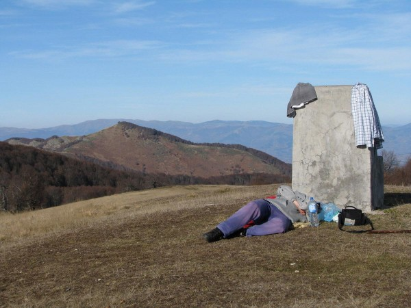How to rest during hiking