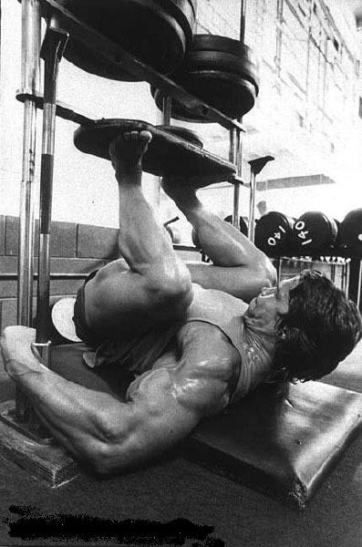 Arnold Classic Workout leg press