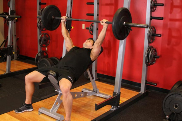 Chest Workout - Incline Bench Press