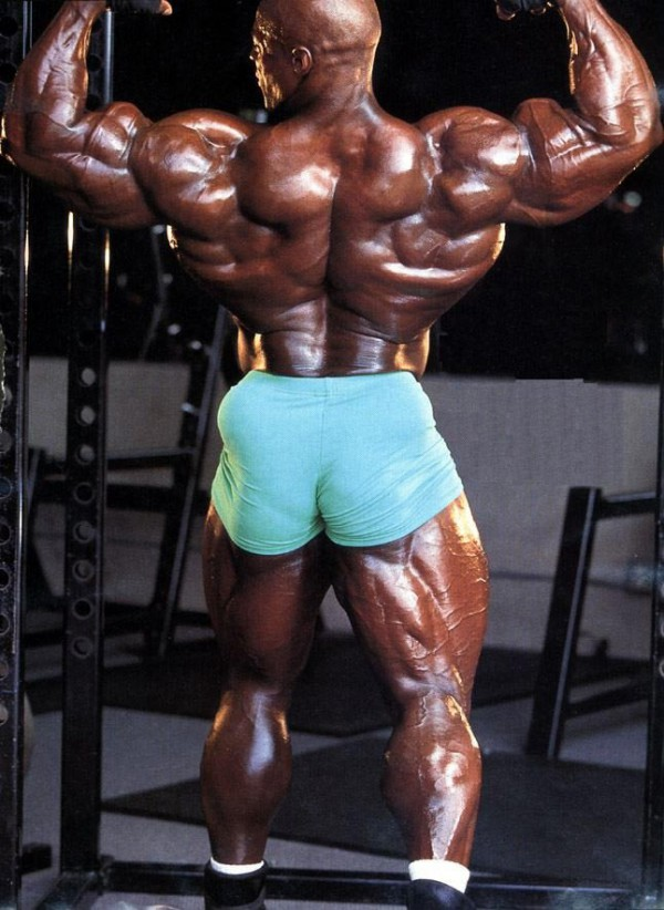Ronnie Coleman, back