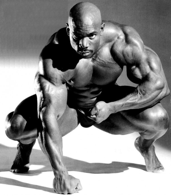 Ronnie Coleman lock and loaded