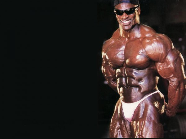 Ronnie Coleman smiling
