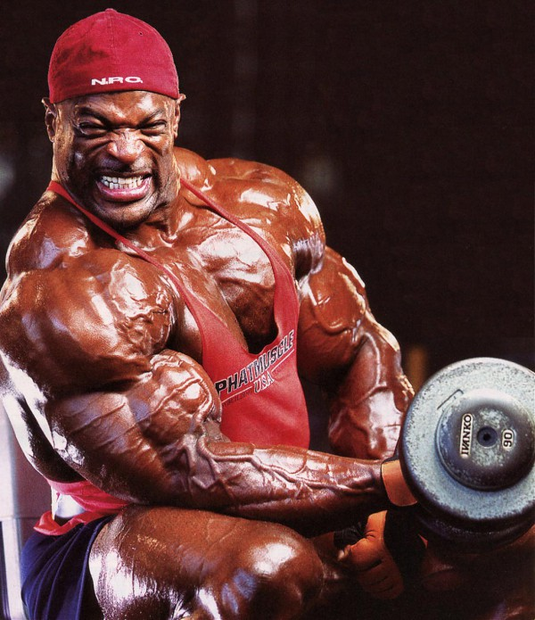 Ronnie Coleman to the last repetition