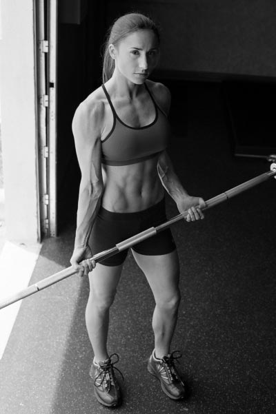 sexy barbell workout