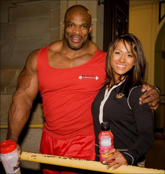 Nordin Pauline and Ronnie Coleman