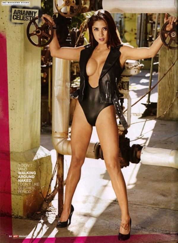 Arianny Celeste for UFC Magazine Feb 2010 and Maxim May 2010
