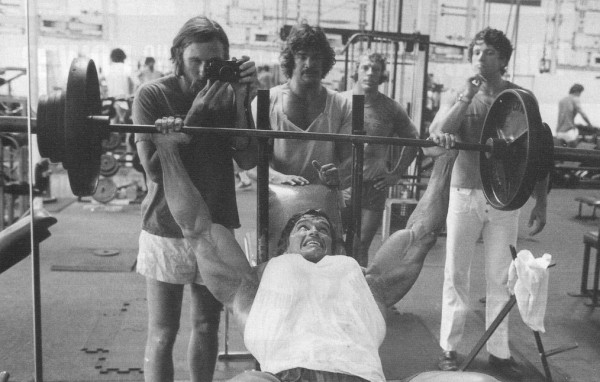 Arnold Classic Workout - No distraction whatsoever