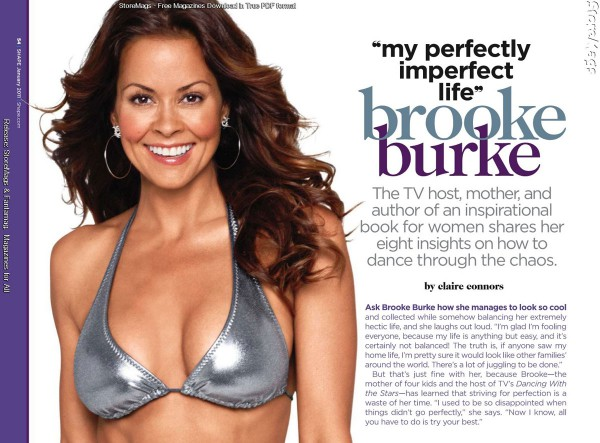 Brooke Burke Shape Magazine 02