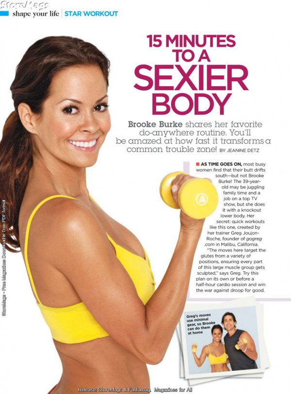 Brooke Burke Shape Magazine 04