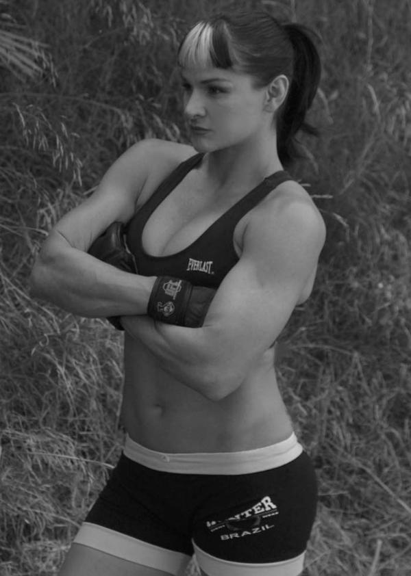 Debi Purcell Female Athlete MMA Fighter