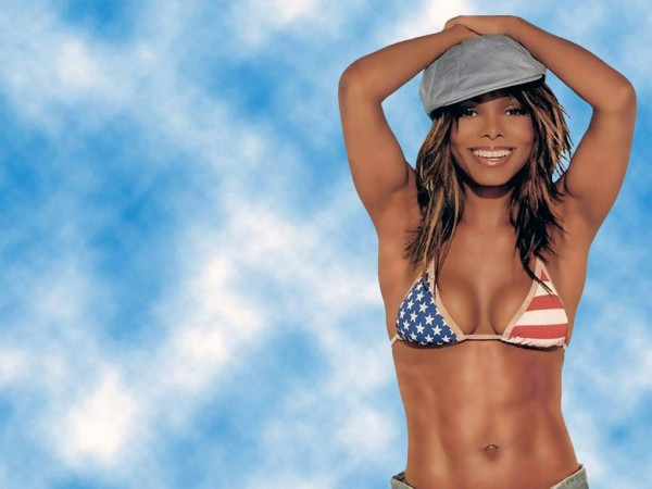 Janet Jackson abs