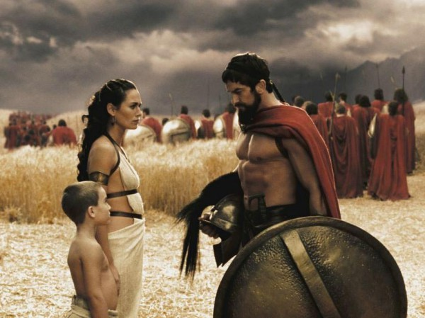 King Leonidas 300 movie
