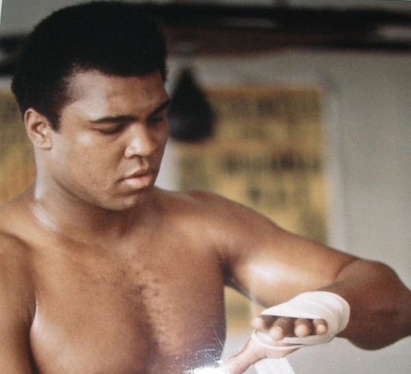 Muhammad Ali fight preparations
