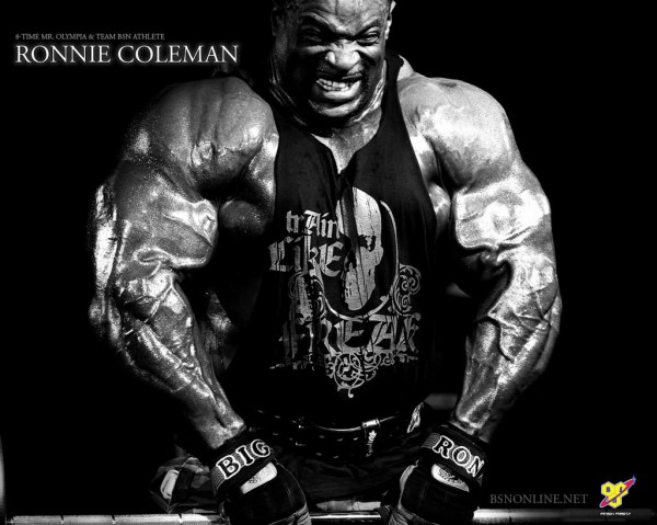 Ronnie Coleman in the flesh, part 3