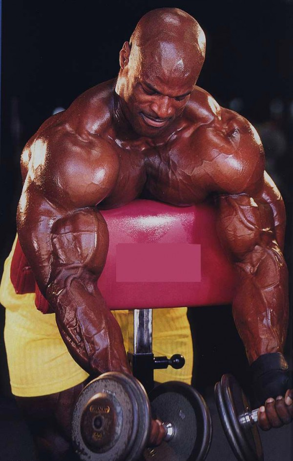Ronnie Coleman in the flesh, part 3 - Train Body and Mind
