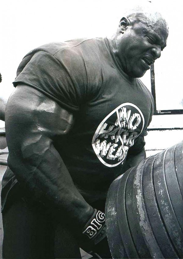 Ronnie Coleman back exercise
