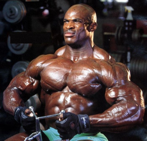 Ronnie Coleman pull
