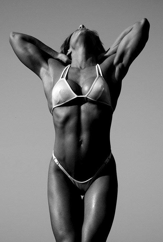 The Art of Ab Muscles, Woman Bodybuilding
