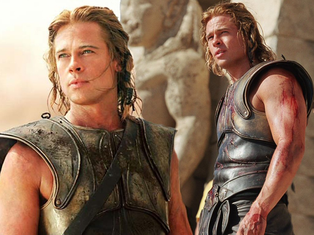 Brad Pitt in Troy - Train Body and Mind