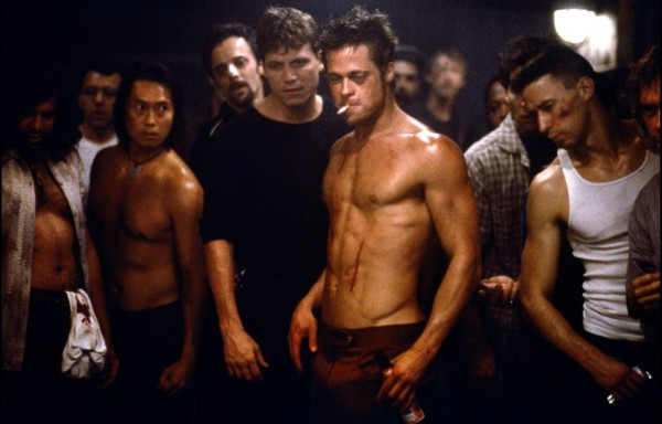 Brad Pitt fight club 02