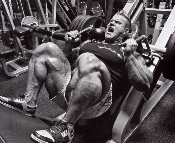 Jay Cutler leg press