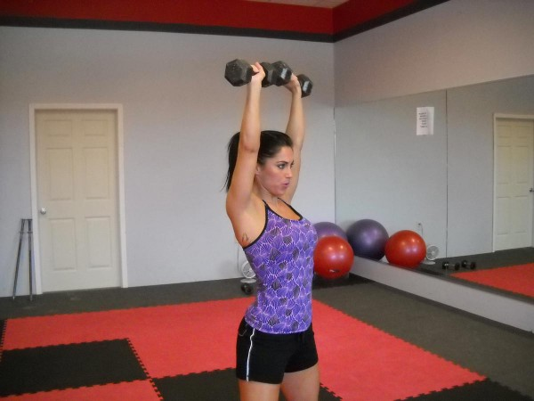 Dumbbell Front Rise – Shoulder Workout