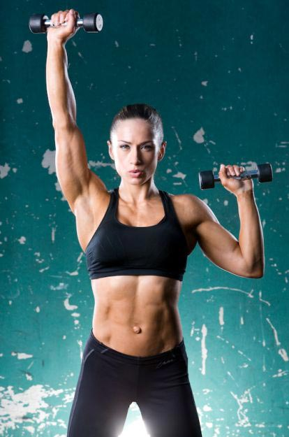 pauline nordin shoulder workout