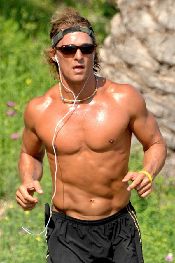Matthew Mcconaughey shirtless