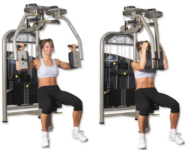 chest workout with cable machine