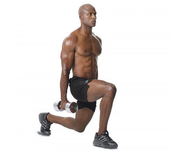 Leg Workout – Dumbbell Split Squat