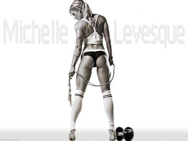 Michele Levesque fitness babe