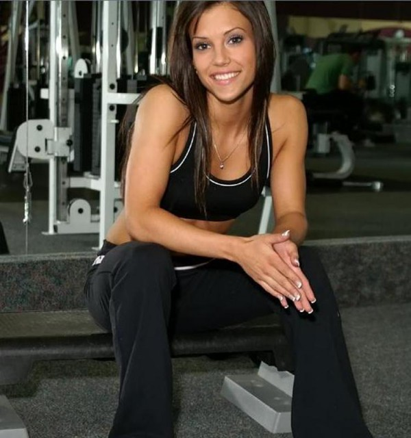 Leigh Lingham fitness babe