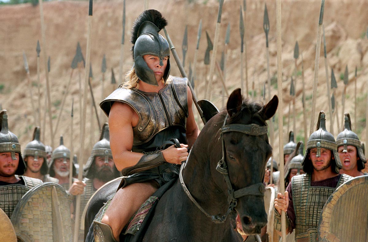 Brad Pitt in Troy, part 2 - Train Body and Mind