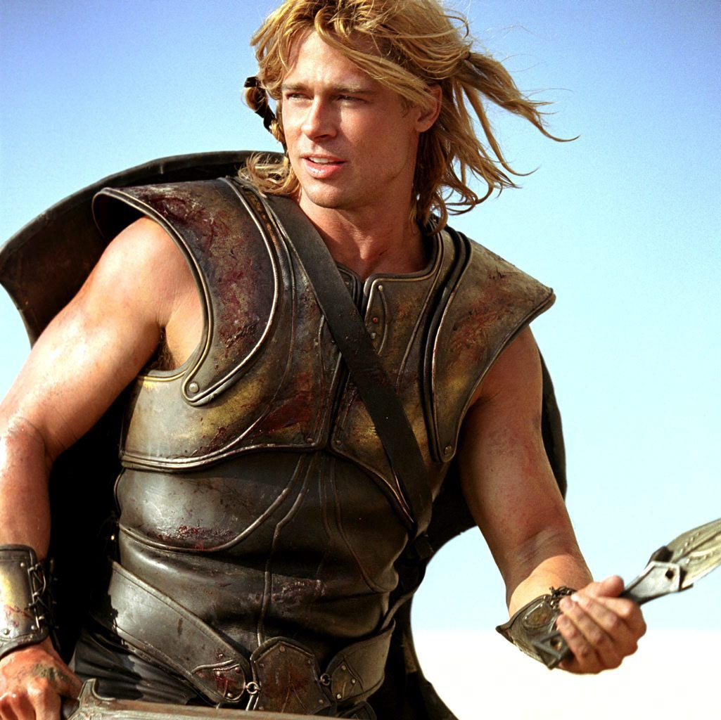 brad pitt in troy part 2 train body and mind