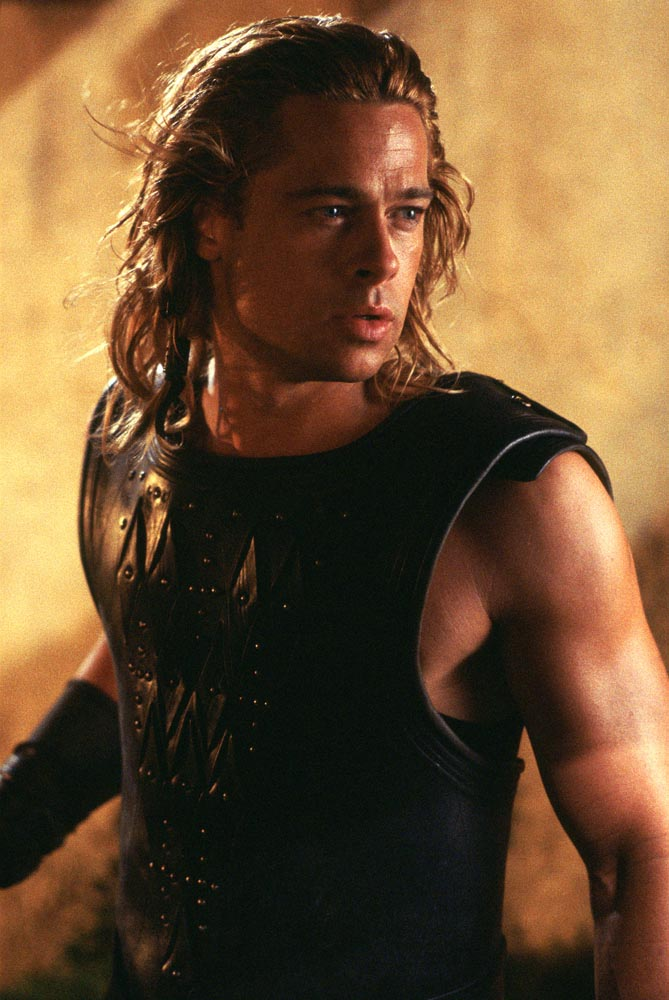 Brad Pitt in Troy  part 2Achilles Brad Pitt Hair