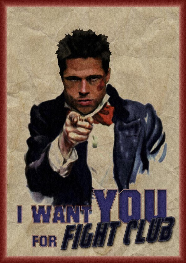 Brad Pitt Fight Club