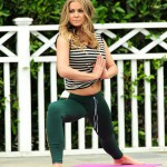 Carmen Electra training Yoga