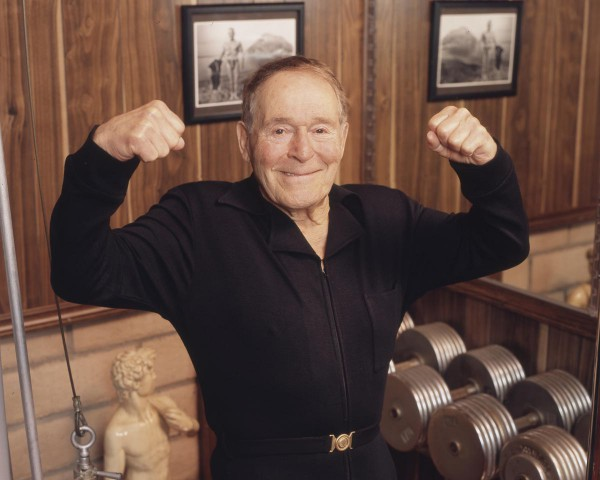 The motivation that we got from Jack Lalanne