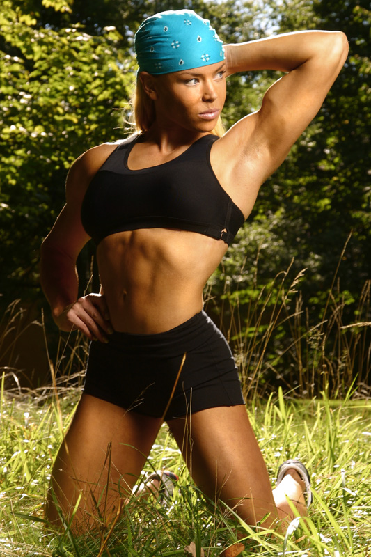 Lina Eklund fitness model