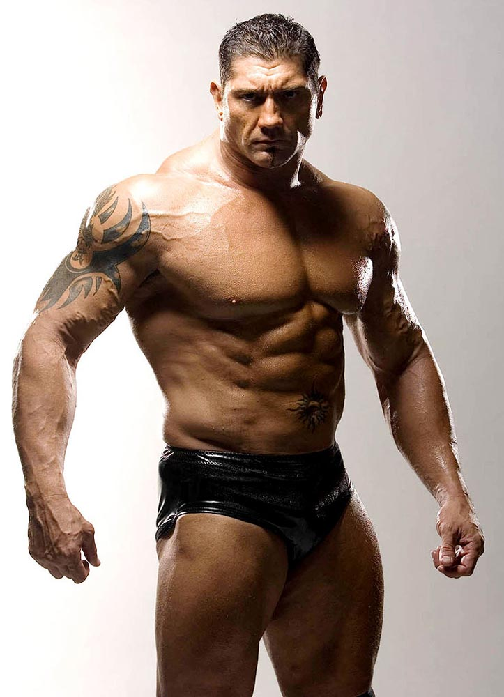 Dave Batista Train Body And Mind