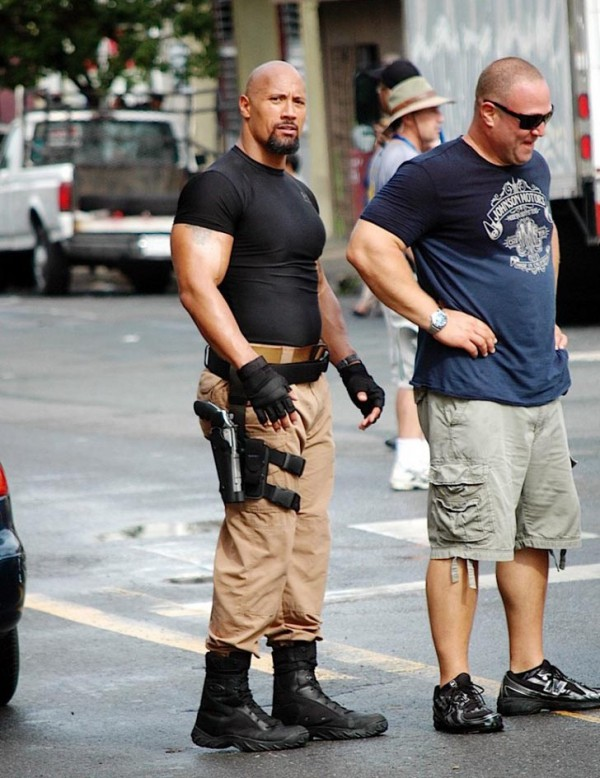 Dwayne Johnson in Fast Five