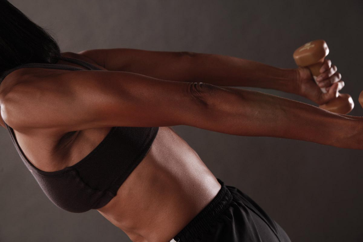 Triceps Workout: Dumbbell Kickback - Train Body and Mind