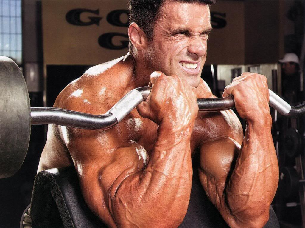 Biceps workout: Preacher Curl - Train Body and Mind