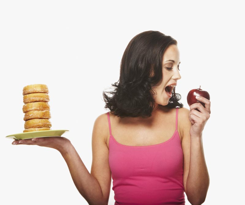 The Balance between Workout and Diet